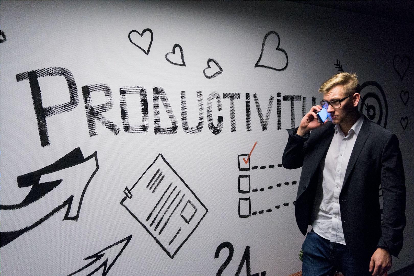 te vaak gebruikte stockfoto voor productiviteit